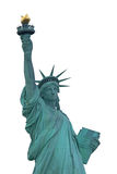 Isolerad staty av frihet Royaltyfri Fotografi