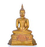 isolerad statywhite för bakgrund buddha Arkivfoton