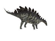 Isolerad Stegosaurus vektor illustrationer