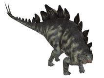 Isolerad Stegosaurus royaltyfri illustrationer