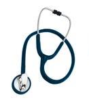 isolerad stetoskopwhite Royaltyfri Bild