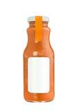 Isolerad sund smoothie Fotografering för Bildbyråer
