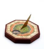 isolerad sundial Royaltyfria Foton