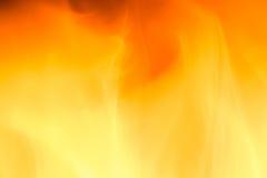 isolerad svart brand för bakgrund Arkivbilder