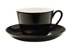 isolerad svart kopp Royaltyfria Bilder