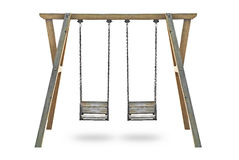 isolerad swing Arkivbilder