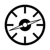Isolerad symbol för kompasshandbok apparat royaltyfri illustrationer