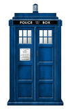 Isolerad Tardis illustration stock illustrationer