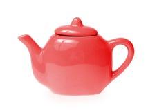 isolerad teapot Royaltyfria Bilder