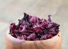 isolerad teawhite för bakgrund hibiskus Royaltyfria Foton