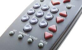 Isolerad televisionfjärrkontroll Royaltyfri Fotografi