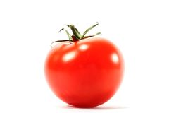 isolerad tomat Royaltyfria Bilder