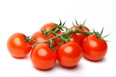 isolerad tomat Royaltyfri Bild