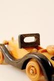 isolerad toywhite för bakgrund bil Fotografering för Bildbyråer