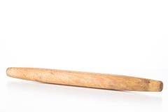 Isolerad träkavel för att baka Royaltyfri Bild
