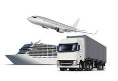 Isolerad transport Royaltyfri Bild