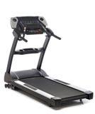 isolerad treadmill Fotografering för Bildbyråer
