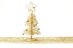 isolerad treewhite för jul 3d bild Royaltyfri Fotografi