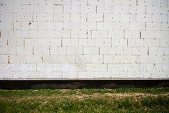 Isolerad vägg Royaltyfri Bild