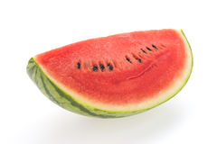 Isolerad vattenmelon Arkivfoto