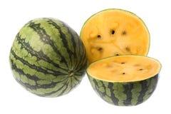 isolerad vattenmelon Royaltyfri Bild