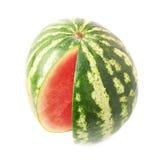 Isolerad vattenmelonfrukt Royaltyfria Foton