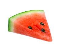 Isolerad vattenmelonskivanärbild Royaltyfri Foto