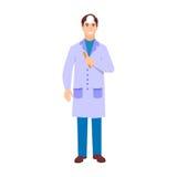 Isolerad vektor för ögonläkaredoktorstecken Royaltyfri Bild