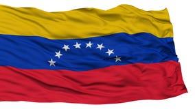 Isolerad Venezuela flagga Arkivfoton