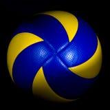 isolerad volleyboll Royaltyfri Bild
