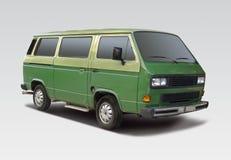 Bussa skåpbilen Royaltyfri Foto