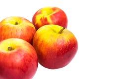 isolerad white för äpple bakgrund Royaltyfri Bild