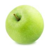 isolerad white för äpplebakgrund ny green Arkivfoto