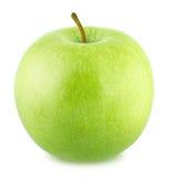 isolerad white för äpplebakgrund ny green Royaltyfria Foton