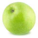 isolerad white för äpplebakgrund ny green Arkivbilder