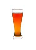 isolerad white för öl exponeringsglas Royaltyfria Foton