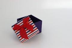 isolerad white för ask gåva Royaltyfria Bilder