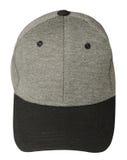 isolerad white för bakgrund hatt Hatt med den svarta skärmen grå hatt Royaltyfria Foton