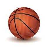 isolerad white för bakgrundsboll basket Arkivfoto