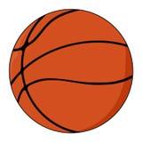 isolerad white för bakgrundsboll basket Royaltyfri Fotografi