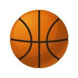 isolerad white för bakgrundsboll basket Royaltyfri Illustrationer