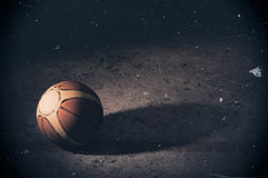 isolerad white för bakgrundsboll basket royaltyfri foto