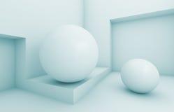 isolerad white för begrepp interior Stock Illustrationer