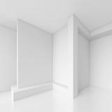 isolerad white för begrepp interior Royaltyfri Illustrationer