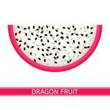 isolerad white för drake frukt fotografering för bildbyråer