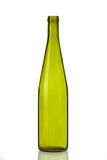 isolerad white för flaskexponeringsglas Arkivbilder