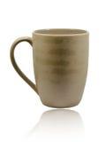 isolerad white för kaffekopp Arkivfoton