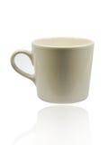 isolerad white för kaffekopp Royaltyfri Fotografi