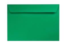 isolerad white för kuvert green Royaltyfri Fotografi