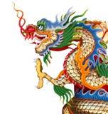 isolerad white för bakgrund färgrik drake Arkivbild